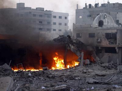 Israel-Hamas 'Open War': LIVE UPDATES — RT | Mayhem in Gaza | Scoop.it