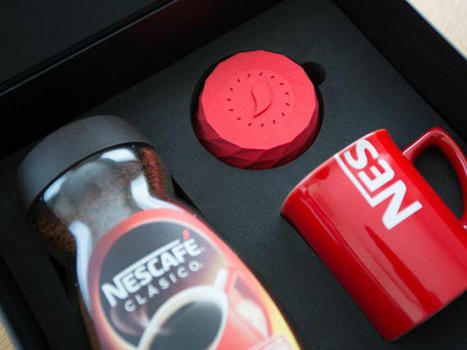 Nescafe tops coffee with 3D-printed alarm clock - CNET | 3D printing | Scoop.it