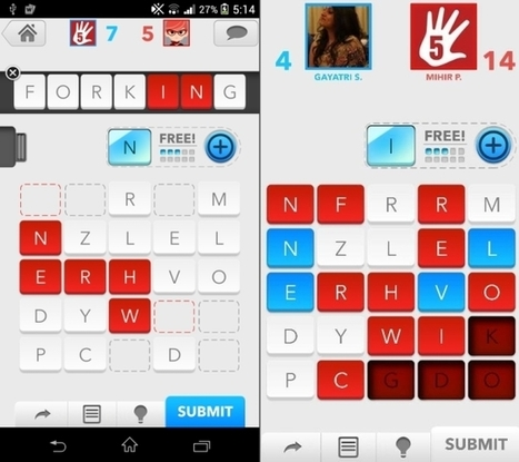 3 Cross Platform, Free Word Games For Android and iOS Users To Compete On | Android Apps in Education | Scoop.it