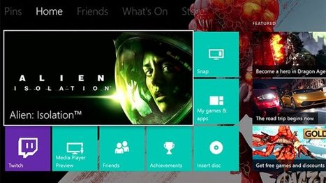 Major Xbox One update with custom backgrounds and Twitter support is here | Windows 8.  + Windows Phone | Scoop.it