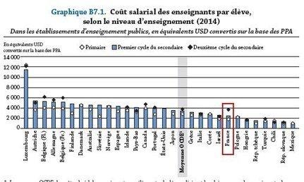 #systemeeducatif : Regards sur l'éducation - Quel est le coût réel de l'éducation en France ? #OCDE | [in]Formation En Education | Scoop.it