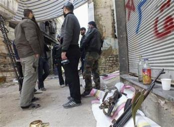 Syrian rebels pierce Assad's siege lines in Homs: opposition | Coveting Freedom | Scoop.it