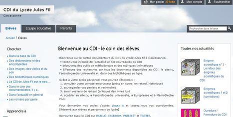 Esidoc du CDI du Lycée Jules Fil à Carcassonne   Esidoc dans tous ses états   Scoop.it