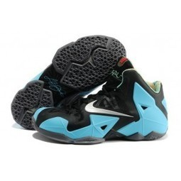 Nike Zoom Lebron XI 11 Mens 2014 New Black Blue | Jordan 28 for sale | Scoop.it