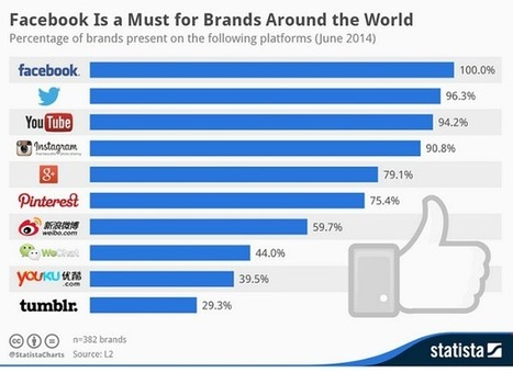 100% des grandes marques sont présentes sur Facebook | Actus Marketing & Communication pour l'immobilier | Scoop.it