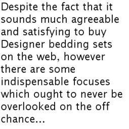 Get The 100% Cotton Bed Sheets Set Online   Cotton Bed Sheet Sets Online   Scoop.it