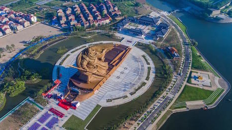 Monumental 1,320-Ton Sculpture of Chinese War God Watches Over the City | Le It e Amo ✪ | Scoop.it