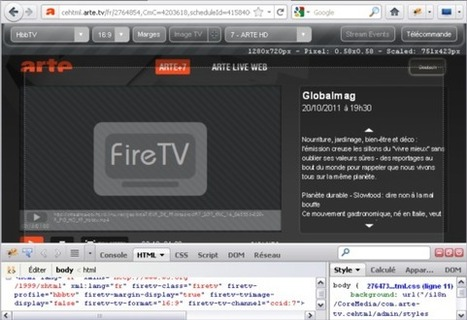 FireHbbTV : HbbTV development add-on for Firefox | Video Breakthroughs | Scoop.it
