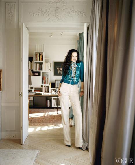 L'Wren Scott and Mick Jagger's stylish Parisian apartment | That's Krafty | Scoop.it