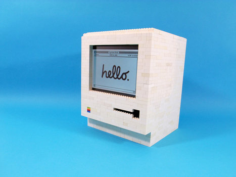 A 1984 Apple Macintosh made of LEGO that utilizes an ipad - Lost At E Minor: For creative people | Better teaching, more learning | Scoop.it