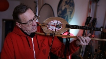 Artist Ken Butler Turns One Man's Trash Into Another Man's Quirky Stringed Instrument | Studio Art and Art History | Scoop.it