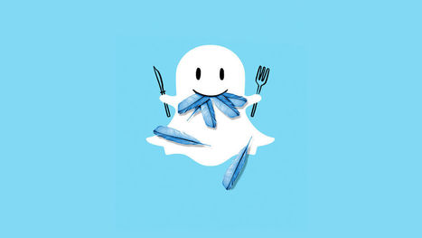Snapchat dépasse Twitter | La Boîte à Idées d'A3CV | Scoop.it