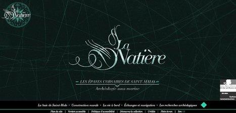 Les épaves corsaires de la Natière. Archéologie sous-marine à Saint-Malo | Expositions à portée de clic | Scoop.it