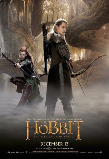 Two New Images, 5 Posters, and End Credits Song from THE HOBBIT   'The Hobbit' Film   Scoop.it