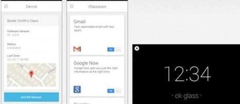 Google prepara aplicación iPhone para controlar las Google Glass | Innovación docente universidad | Scoop.it