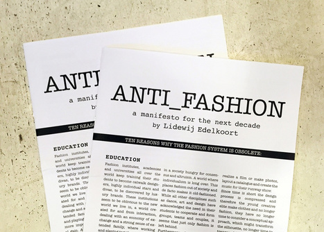 "Li Edelkoort publishes manifesto on why ""fashion is obsolete"" 