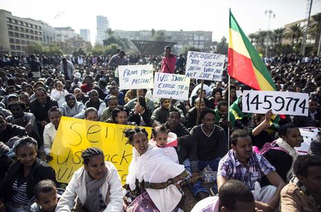 Thousands of asylum seekers protest in Israel - Aljazeera.com   Activism, Protest, Citizen Movements, Social Justice   Scoop.it