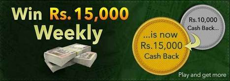 Rummy Cash Back Offer - Play Rummy for Cash | Rummy Cash Games at Classic Rummy | Rummy Cards Game | Scoop.it