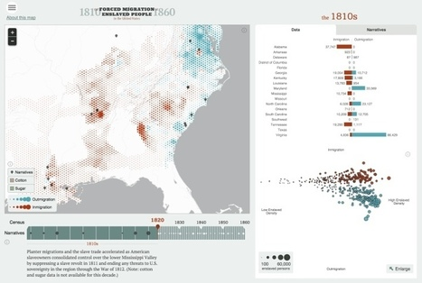 History's going digital! These maps show history in a new way. | US History | Scoop.it