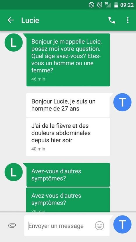 Bot test : le médecin par SMS propulsé par l'intelligence artificielle | De la E santé...à la E pharmacie..y a qu'un pas (en fait plusieurs)... | Scoop.it