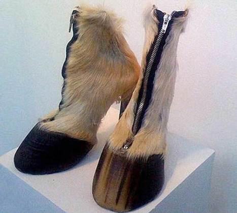 Lo ultimo en zapatos raros.   Shoes Glamour   Scoop.it