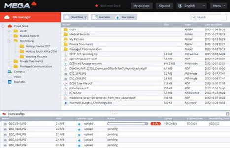 Mega : 3 millions d'utilisateurs, 125 millions de fichiers hébergés ! | J'aime le matos informatique et tout ce qui tourne autour ... | Scoop.it