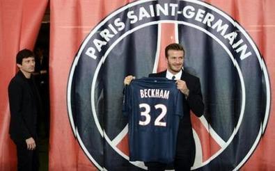 Beckham contrarié par la polémique sur son âge | La lettre de Toulouse | Scoop.it