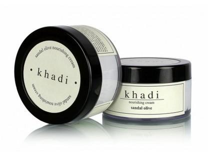 Buy Khadi Sandal & Olive Nourishing Face Cream online | Khadi Products | Scoop.it