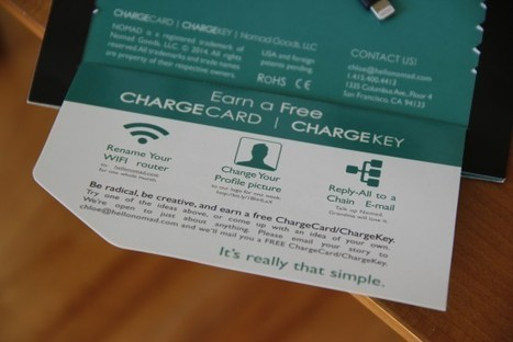 TCritic: Nomad charger makes on-the-go charging as simple as U-S-B | Transportation industry | Scoop.it