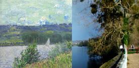 Les Impressionnistes et la Normandie : un tableau, une photo | La revue de presse de Normandie-actu | Scoop.it