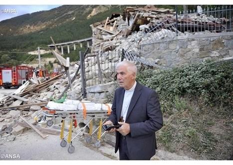 Biskup talianskej diecézy po zemetrasení: Ľudia ďakujú záchranárom   Správy Výveska   Scoop.it