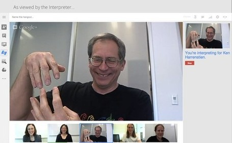 Google Hangouts receive sign language interpreter support, keyboard shortcuts | Technocare – Care with technologies | Tecnocuidado, cuidados con tecnologías | Scoop.it