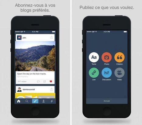 Tumblr mue et adopte une nouvelle interface   webmarketing   Scoop.it