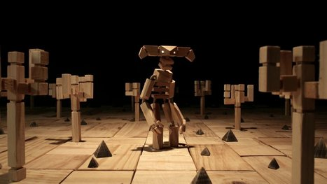 Wooden Stop Motion Animation for 'Colourblind' by Elliot the Bull | Machinimania | Scoop.it