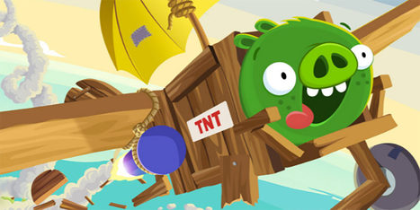 Bad Piggies Is the Best Science Game You Didn't Know Was About Science | Research_topic | Scoop.it