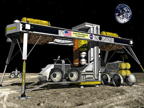 Lunar Mining [Part Three]: Lunar Considerations | Space matters | Scoop.it