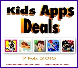 Fun Educational Apps: Top Apps for Kids Reviews! : Free Apps for Kids and Price Drop | Education, iPads, | Scoop.it
