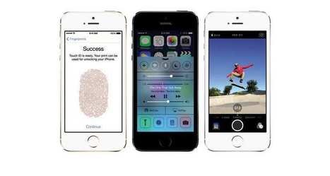 L'iPhone 5S d'Apple reste le smartphone le plus vendu dans 35 pays | Florilège | Scoop.it