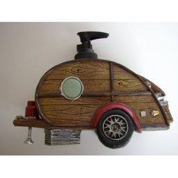 Amazon.com: Woody Teardrop Trailer Soap Dispenser: Home & Kitchen | Teardrop trailer building | Scoop.it