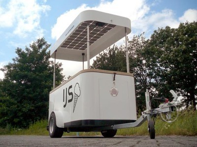 Ice Cream Cart Keeps Things Cold with Solar Power | Vertical Farm - Food Factory | Scoop.it