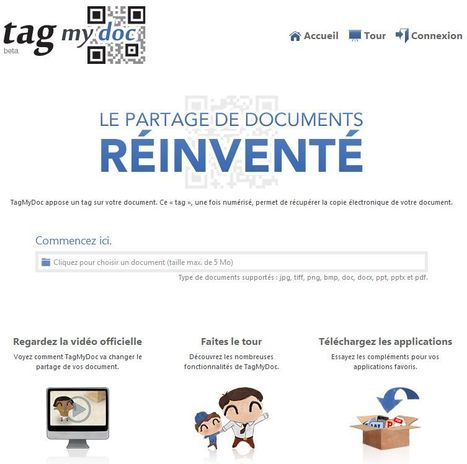 TagMyDoc : Le partage de documents réinventé | Time to Learn | Scoop.it