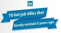 [Infographie] Top 10 des métiers qui n'existaient pas (ou peu) il y a 5 ans | Solutions locales | Scoop.it