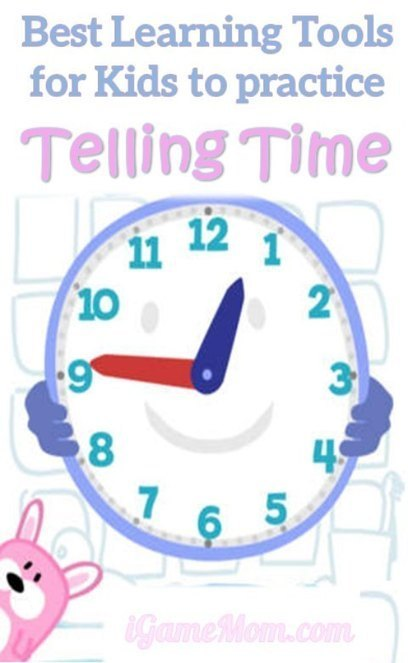 Best Learning Tools for Kids To Practice Telling Time | iGameMom | Edtech PK-12 | Scoop.it