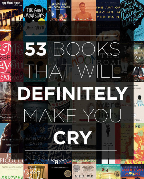 53 Books That Will Definitely Make You Cry | Book  and Movie Lists | Scoop.it