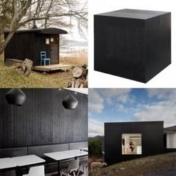 Dezeen » Dezeen archive: blackened wood | CAP IMAGE | Scoop.it