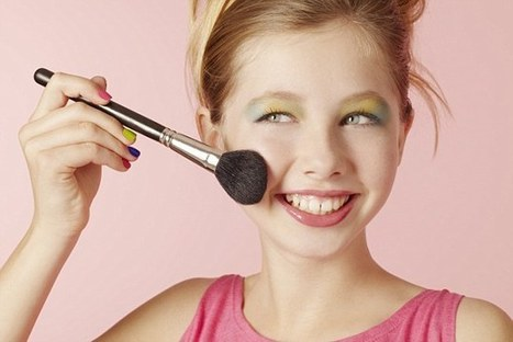 A fifth of girls as young as 12 won't leave home without full make-u   Kickin' Kickers   Scoop.it