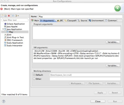 Starting Play 2.0 from withinEclipse   playframework   Scoop.it