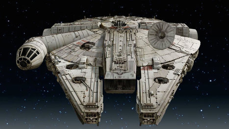Millennium Falcon appears to take shape in new 'Star Wars: Episode VII' spy shots | HobbieScoop.it | Scoop.it