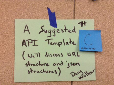 A Personal API | NetworkedPractice | Scoop.it