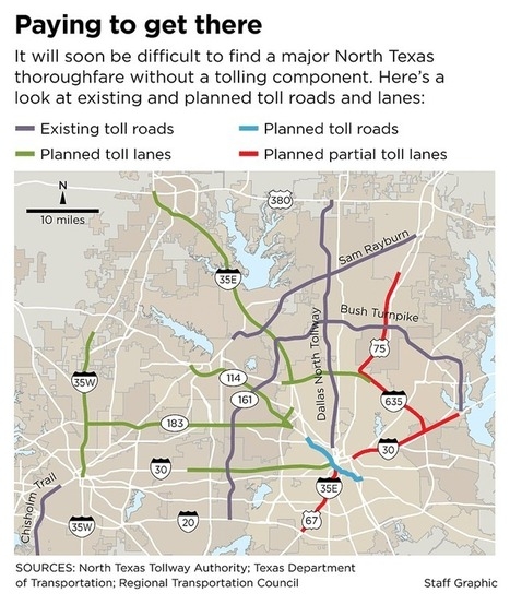 North Texas traffic planners back off idea of toll lanes on Central - Dallas Morning News | QwikWash America! Car Care Tips | Scoop.it